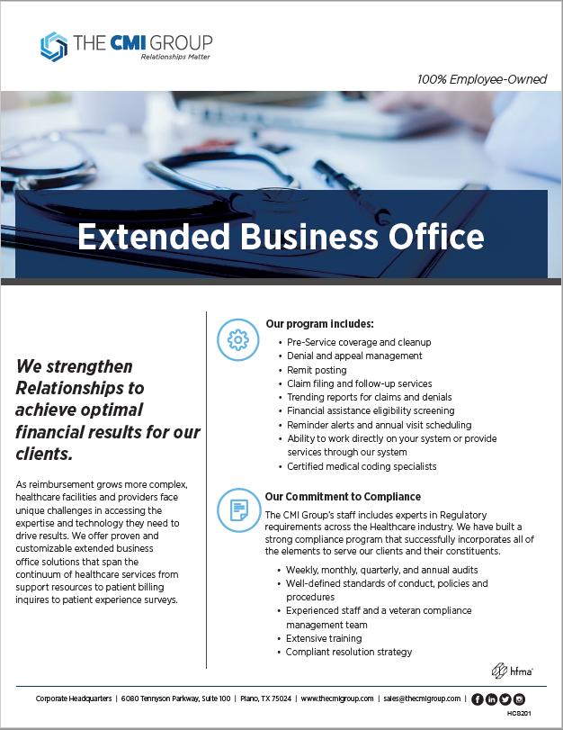 Extended Business Office Marketing Slick