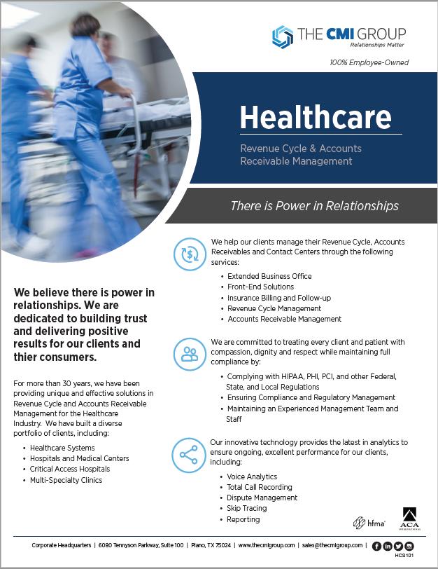 Healthcare Overview Marketing Slick