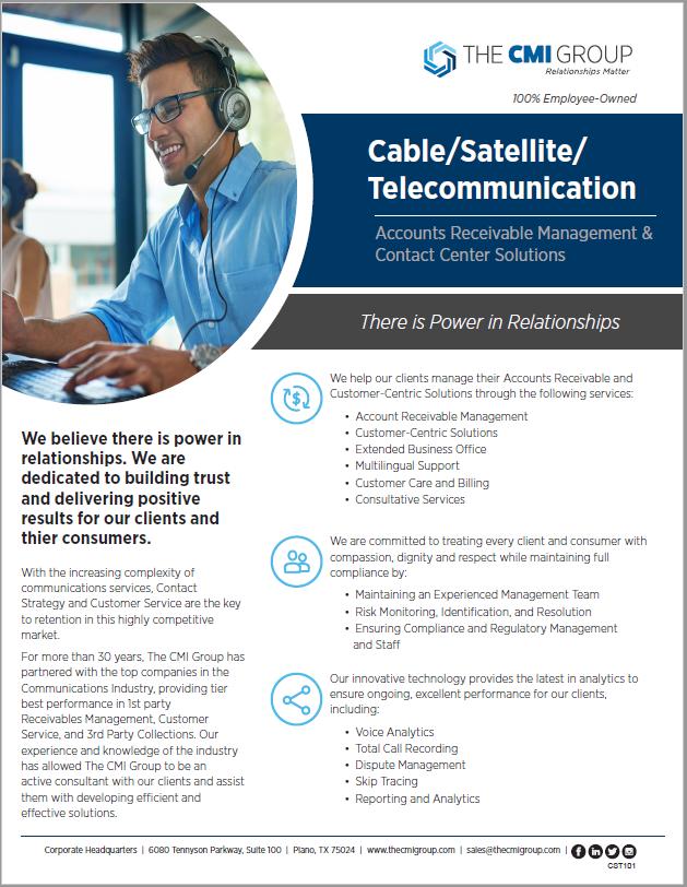 Telecommunication Marketing Slick