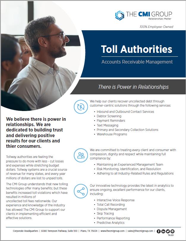 Toll Authority Marketing Slick